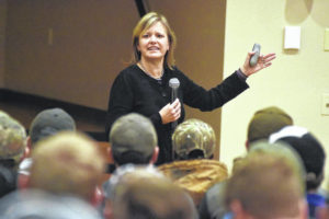 Speaker visits UNOH to raise stalking awareness