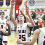 Elida gets back to winning ways, tops LCC in boys basketball