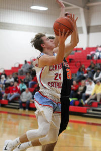 LCC fades after fast start in boys basketball loss