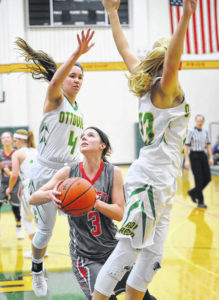 Ottoville dominates Pandora-Gilboa in girls basketball