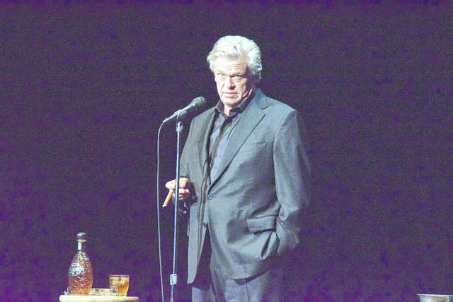 Ron White takes the stage and the Civic Center and performs his brand of blue collar humor.