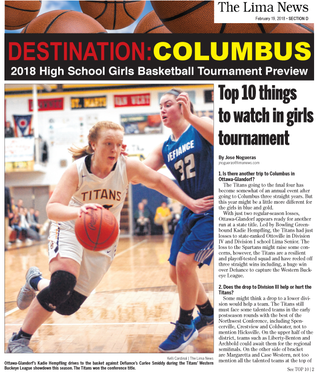 Destination: Columbus 2018 High School Girls Basketball Tournament Preview