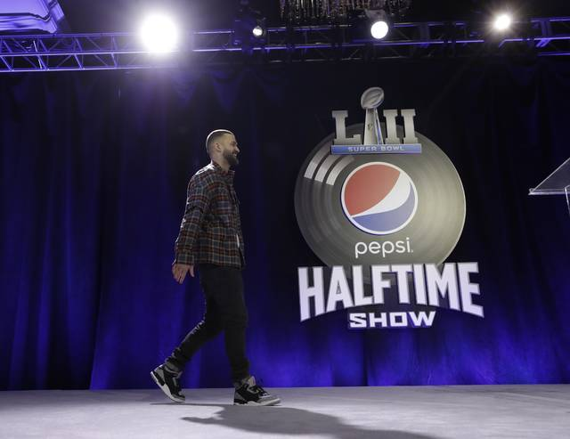 Timberlake previews Super Bowl halftime show
