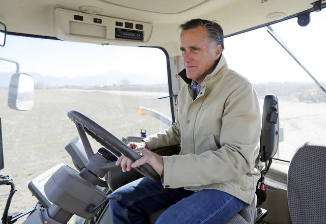 In first official Senate ad, Mitt Romney takes hard swipes at Trump