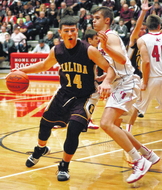 Kalida's Owen Recker has been a contributed to the Wildcats' success this year with his selfless play that has been a staple for this team all year.