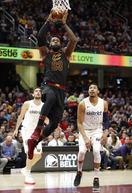 Wizards hold off LeBron, new-look Cavaliers 110-103