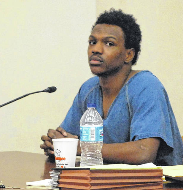Jamie Williams Jr., of Dayton, was sentenced Thursday to three years in prison for his attempted robbery of a CVS pharmacy in Shawnee Township last year.