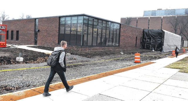Perry Webb Student Life Building under construction on the campus of OSU/Lima campus. Craig J. Orosz | The Lima News