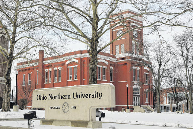A mix of the old and new can be found on the Ohio Northern University Campus in Ada.