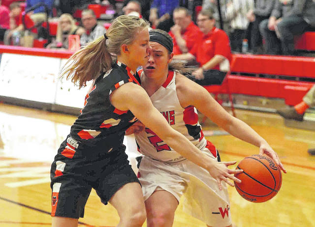 Minster capitalizes on Wapakoneta miscues for girls basketball victory