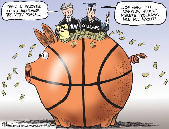 Federal Bureau of Investigation wiretaps find corruption in NCAA