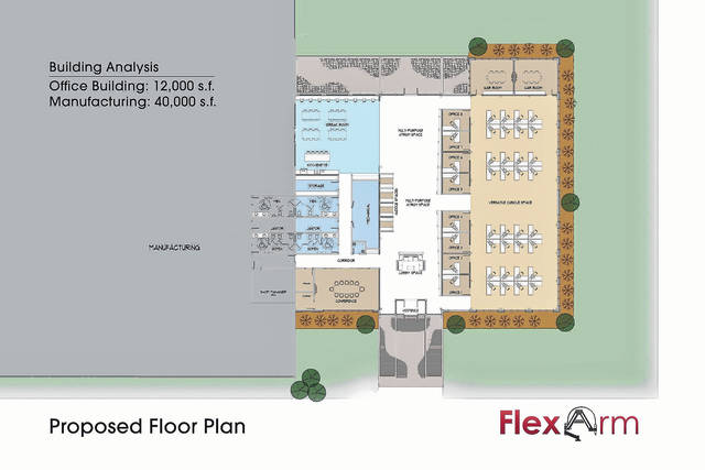 A layout shows what is being planned in the new building.