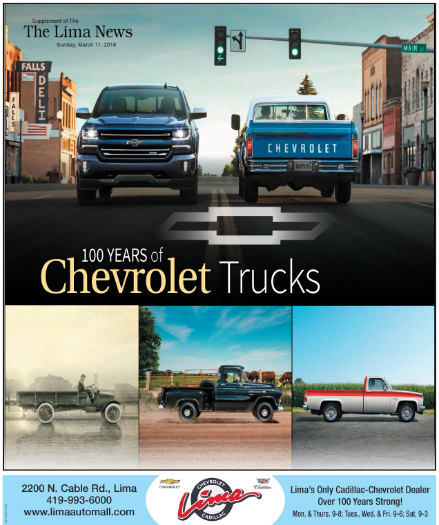 100 Years of Chevrolet Trucks March 2018