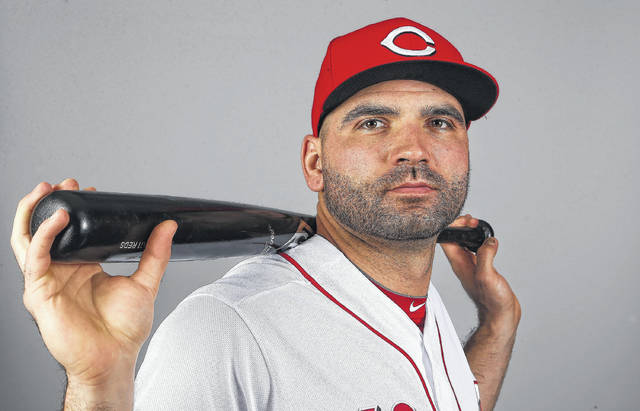 Cincinnati first baseman Joey Votto was the runner-up in 2017 National League MVP voting after hitting .320 and leading the league in walks (134) and on base percentage (.454). He also had 34 doubles, 36 home runs, scored 106 runs, drove in 100 and racked up 323 total bases.