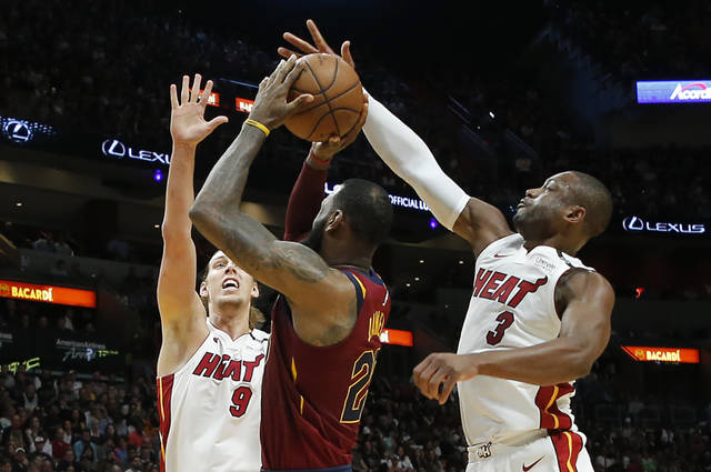 Was Tuesday the final game between LeBron James and Dwyane Wade?