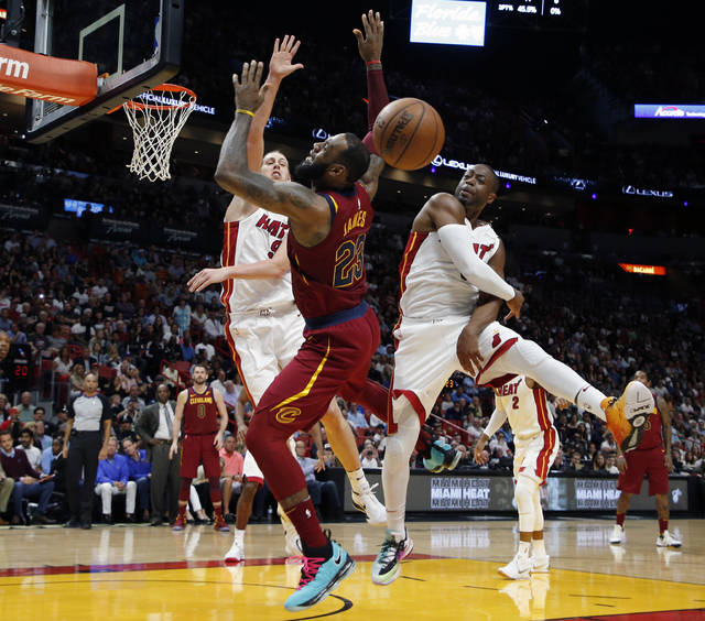 LeBron James says Dwyane Wade didn't brag about his blocks postgame