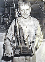 Don Michael won a pair of national championships in speed roller skating.