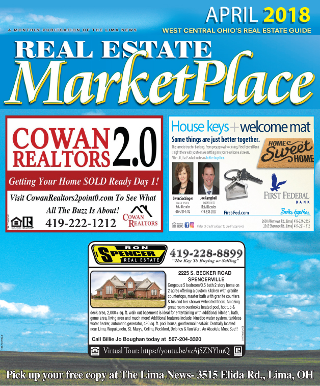 Real Estate Market Place April 2018