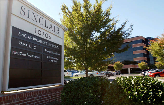 """President Trump is jumping to the defense of the Sinclair Broadcast Group, which is under fire following the rapid spread of a video showing anchors at its stations across the country reading a script criticizing """"fake"""" news stories. Trump tweeted Monday that it was funny to watch """"Fake News Networks"""" criticizing Sinclair for being biased."""