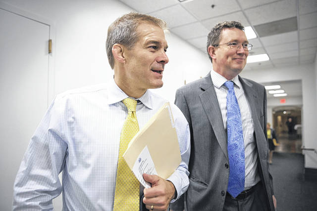 """""""I think the American people can see through this,"""" said Rep. Jim Jordan, R-Urbana, who voted against the spending bill but for the tax cuts. """"The time to have real political courage and do the right thing was four weeks ago. That's when we needed to control spending."""""""