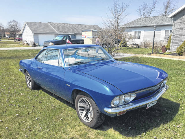 Real Wheels: Restoring Corvair on bucket list of Lima's Gerald