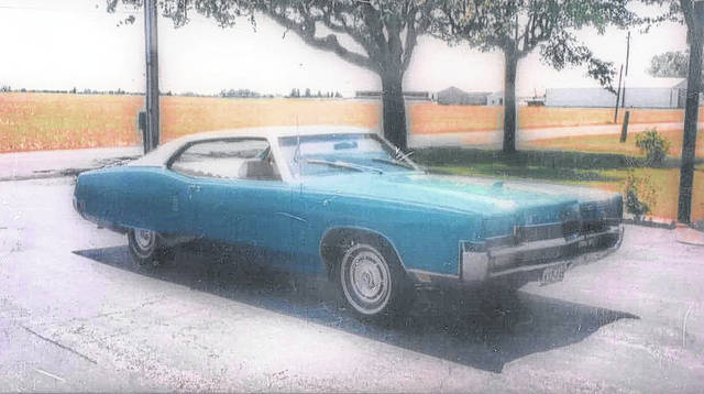 Larry and Sharon Seibert of Spencerville own this 1970 Mercury Marauder.