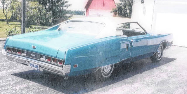 This 1970 Mercury Marauder was purchased new by Larry Seibert's uncle.