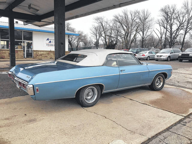 Waller worked on this Impala before finding out it had been owned by his uncle at one time.