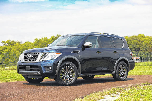 The 2018 Nissan Armada full-size SUV may not be as flashy or expensive as the competition, but it checks all the important boxes for an eight-seat truck-based family hauler.