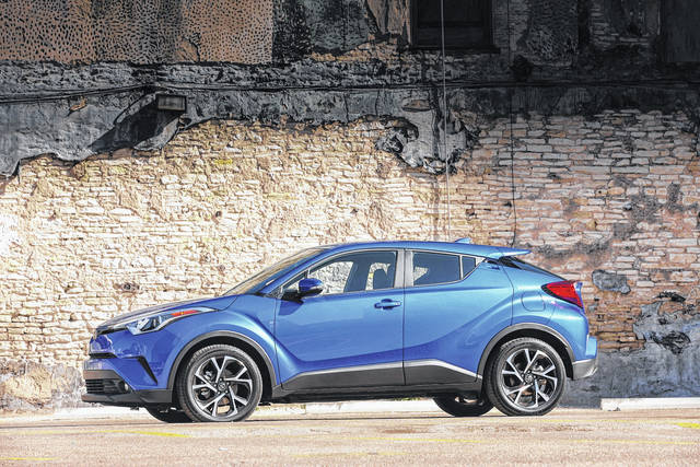 The 2018 Toyota C-HR has a 2.0-liter, four-cylinder under the hood that is rated at only 144 horsepower, so acceleration is leisurely.