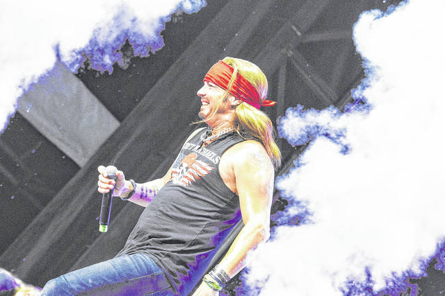 Bret Michaels performed at the first Loud-N-Lima music festival at the Allen County Fairgrounds.