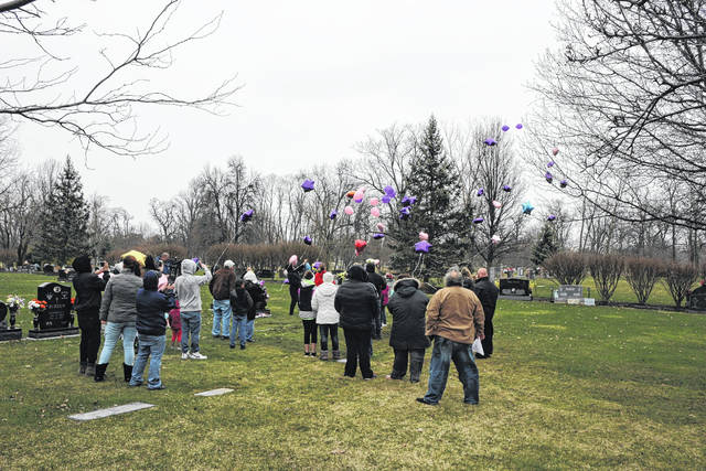 Friends and family of Tara Cutlip mark the five year anniversary of her death with a balloon launch.
