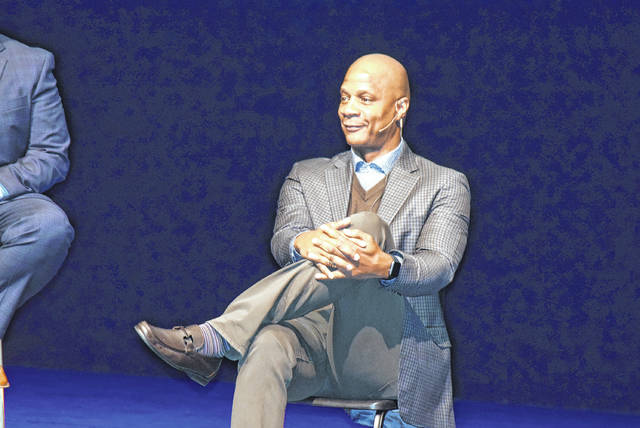 On Sunday in Van Wert, former Major League Baseball player Darryl Strawberry spoke to teenage athletes about his experience with drug abuse.