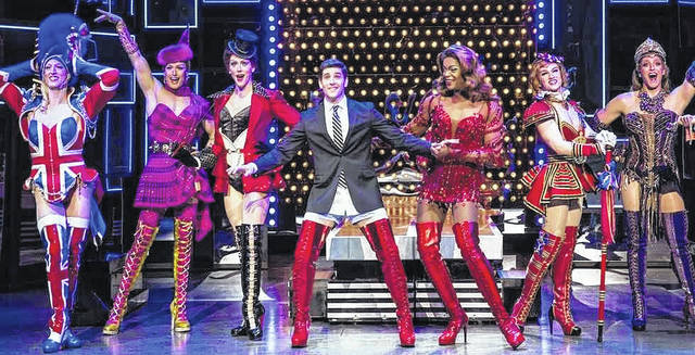 """Kinky Boots"" will entertain Wednesday at Veterans Memorial Civic Center."