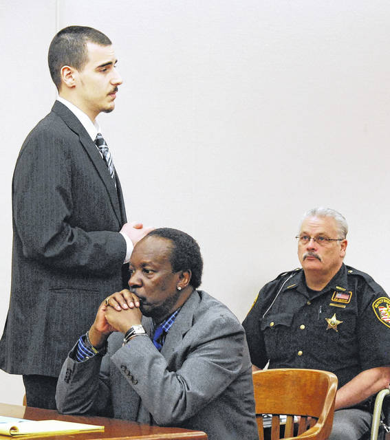 J Swygart   The Lima News  Twenty-year-old Lima resident Gavin Lauck apologized to the family of Damere Oliphant in Allen County Common Pleas Court Monday prior to being sentenced to 18 years to life in prison in connection with the March 27, 2017 shooting death of Oliphant.