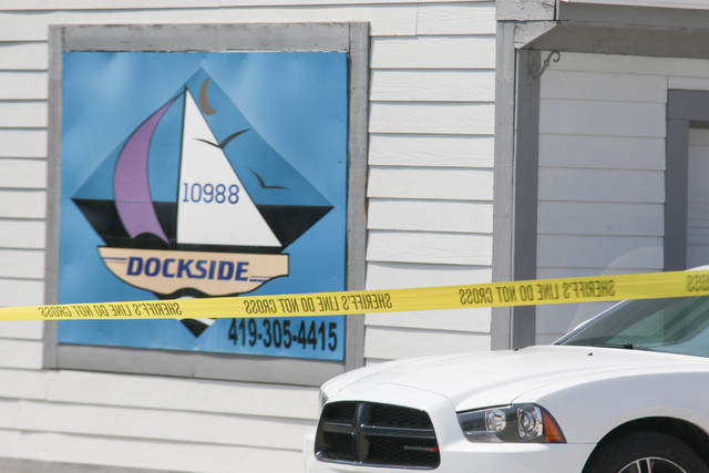 The Auglaize County Sheriff's Office responded to the Dockside apartments in St. Marys after a 911 call was received Wednesday morning about a shooting.