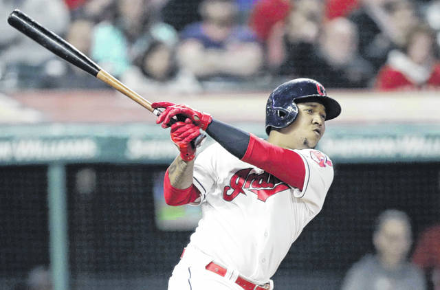Ramirez's late double leads Indians past Rangers