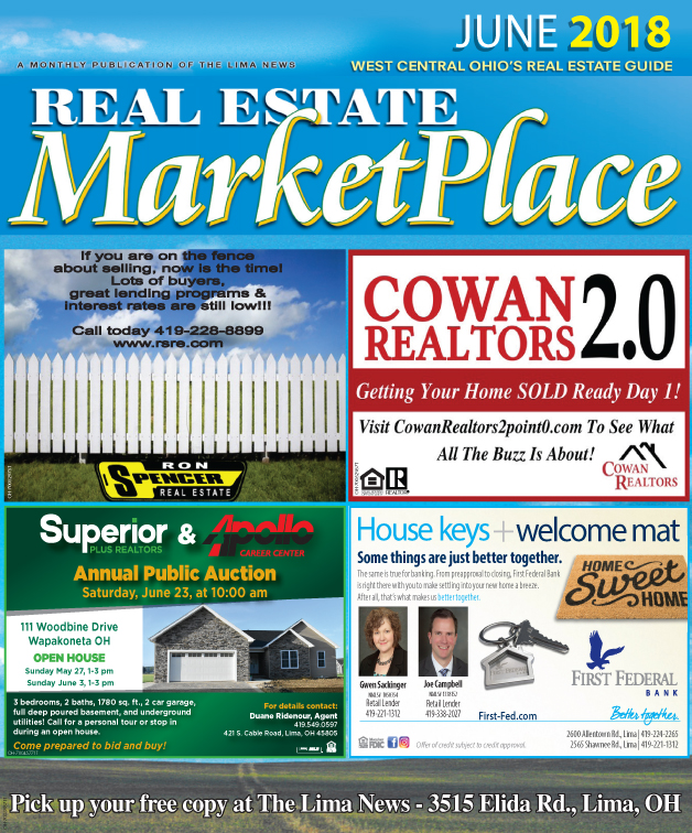 Real Estate Market Place June 2018