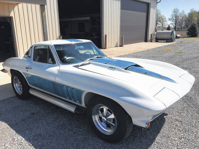 Clair Crider of Lima has owned this 1966 Chevy Corvette since 1969.