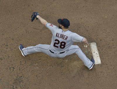 Cleveland Indians starting pitcher Corey Kluber throws during the first inning of a baseball game against the Milwaukee Brewers Tuesday, May 8, 2018, in Milwaukee. (AP Photo/Morry Gash)