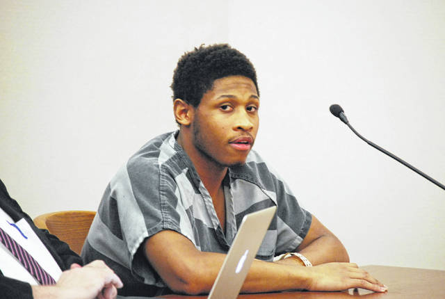 Tobias Griffin, 18, of Lima, was sentenced Thursday to six years in prison for the 2017 armed robbery of a Rite Aid pharmacy in Robb Avenue in Lima.