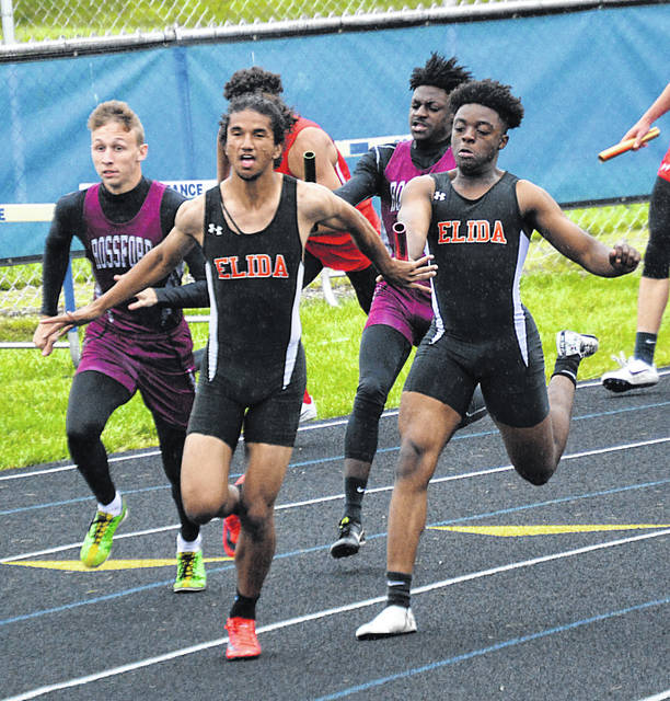 Elida boys win Division II track and field district team title