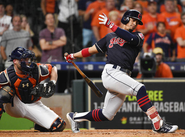 Indians fall 4-1 to Astros