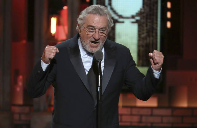 Standing ovation for De Niro's expletive at Trump