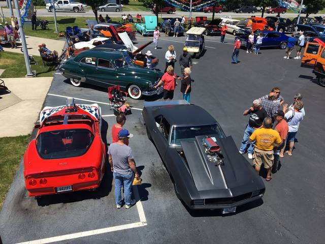 The 9th annual Westgate Charity Car Show drew a large crowd of spectators and car lovers on Sunday to the Lima Chevrolet Cadillac dealership. The Lima News