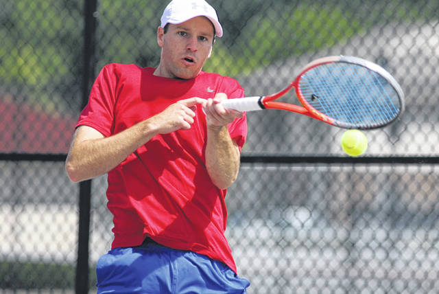 John Kidd garnered his third Lima Area Tennis Association city men's singles title after winning 6-1, 6-1 over Isaac Hanover at the University of Northwestern Ohio tennis courts Sunday.