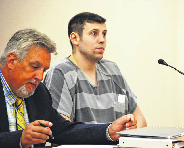 Former Shawnee High School teacher Kyle Baker pleaded guilty Tuesday to four felony charges related to his illicit sexual relationship with a 14-year-old female student at the school. Baker will be sentenced July 24.