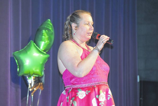 "Meghan Long sings ""My Story"" at Marimor Idol."