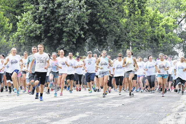 Hundreds of people participated in the World's Funnest Fun 5k Run at the Summer Kickoff event at Grand Lake St. Marys, Saturday.