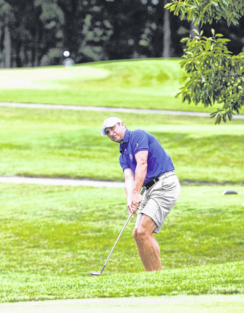 Lima City Men's Golf Championship competitors battle rainy conditions